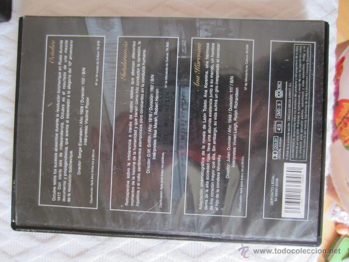 Cine: Seis DVDde joyas del cine, Sherlock,Ana Karenina (histórico)Robin de los bosques - Foto 8 - 44330523