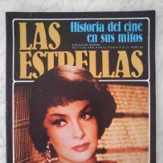 Cine: LAS ESTRELLAS, HISTORIA DEL CINE EN SUS MITOS - Nº 84 - GINA LOLLOBRIGIDA (+ RECORTES). Lote 44346183