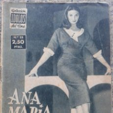 Cine: COLECCION IDOLOS DEL CINE -- ANA MARIA PIERANGELI -- AÑO II - Nº 35 - 1958 -- . Lote 44349634