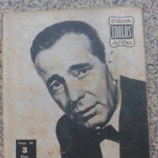Cine: COLECCION IDOLOS DEL CINE -- HUMPHREY BOGART -- AÑO II - Nº 88 - 1958 -- . Lote 44350982