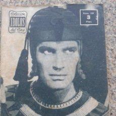 Cine: COLECCION IDOLOS DEL CINE -- CHARLTON HESTON -- AÑO III - Nº 109 - 1958 -- . Lote 44353026