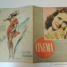 Cine: REVISTA CINEMA Nº 9 1946 - TERESA WRIGTH - MARIA MONTEZ. Lote 44424932