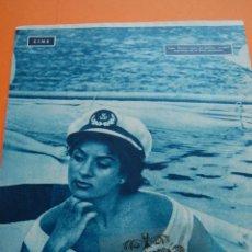 Cine: HOJA REVISTA -1957- LOLA FLORES EN EL LIDO VENECIANO - 1 PAG.. Lote 44427878