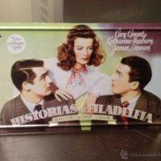 Cine: HISTORIAS DE FILADELFIA-CHAPA CON RELIEVE DEL CARTEL ORIGINAL DEL FILM. Lote 44468619