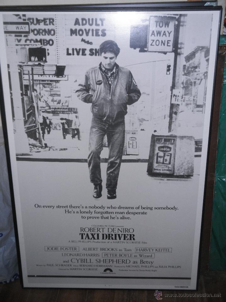 poster enmarcado de la pelicula : taxi driver. - Comprar ...