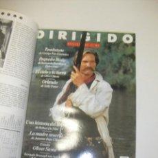 Cine: + REVISTA DIRIGIDO POR AÑO 1994 COMPLETO. DESDE EL 220 AL 230. EXCELENTE ESTADO. ENCUADERNADA. Lote 44530023