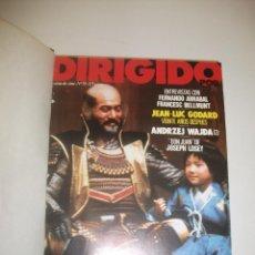 Cine: + REVISTA DIRIGIDO POR AÑO 1981 COMPLETO. DESDE EL 79 AL 88. EXCELENTE ESTADO. ENCUADERNADA. Lote 44531562