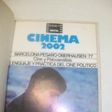Cine: + CINEMA 2002. AÑO 1977/78. NUMEROS DEL 34 AL 39 . ENCUADERNADA . MUY BUEN ESTADO. Lote 44541155