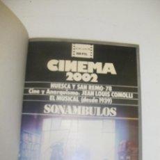Cine: + CINEMA 2002. AÑO 1978V NUMEROS DEL 40 AL 46 . ENCUADERNADA . MUY BUEN ESTADO. Lote 44541231