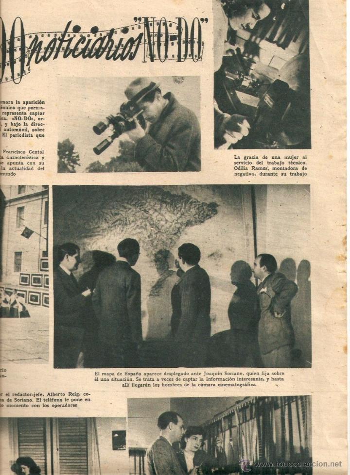 AÑO 1944 JESUS TORDESILLAS NOTICIARIO NO-DO NODO HISTORIA PRIMER NOTICIARIO DE LA FALANGE BARDINET (Cine - Revistas - Primer plano)
