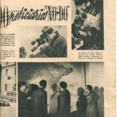 Cine: AÑO 1944 JESUS TORDESILLAS NOTICIARIO NO-DO NODO HISTORIA PRIMER NOTICIARIO DE LA FALANGE BARDINET . Lote 44779988
