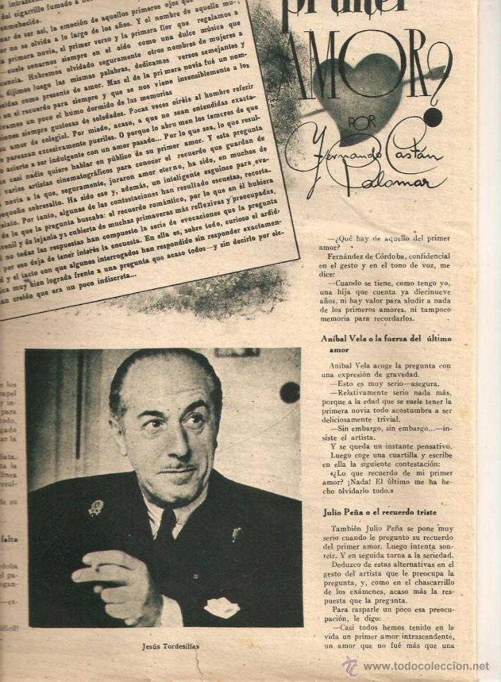 Cine: AÑO 1944 JESUS TORDESILLAS NOTICIARIO NO-DO NODO HISTORIA PRIMER NOTICIARIO DE LA FALANGE BARDINET - Foto 2 - 44779988
