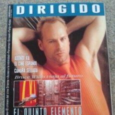 Cinema: DIRIGIDO POR - Nº 257 - BRUCE WILLIS, EL QUINTO ELEMENTO - MAYO 1997 --. Lote 44843069