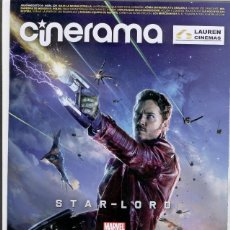 Cine: REVISTA CINERAMA ** JULIO-AGOSTO 2014 - PORTADA: STAR- LORD * GUARDIANES DE LA GALAXIA (MARVEL). Lote 44906696