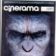 Cine: REVISTA CINERAMA ** JULIO-AGOSTO 2014 - PORTADA: EL AMANECER DEL PLANETA DE LOS SIMIOS. Lote 44906697