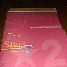 Cine: GLAMOUR 2. UN HOMENAJE AL STAR SYSTEM. FOTOGRAMAS. Lote 44911846