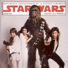 Cine: COMPLETA - STAR WARS SUPLEMENTO COLECCIONABLE # 1 AL 6 (CINEMANIA,2005) - GUERRA DE LAS GALAXIAS. Lote 45084927