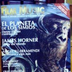 Cine: REVISTA FILM MUSIC Nº 2 DANNY ELFMAN JAMES HORNER ANGEL ILLARRAMENDI ROLFE KENT JAMES HORNER. Lote 45172028