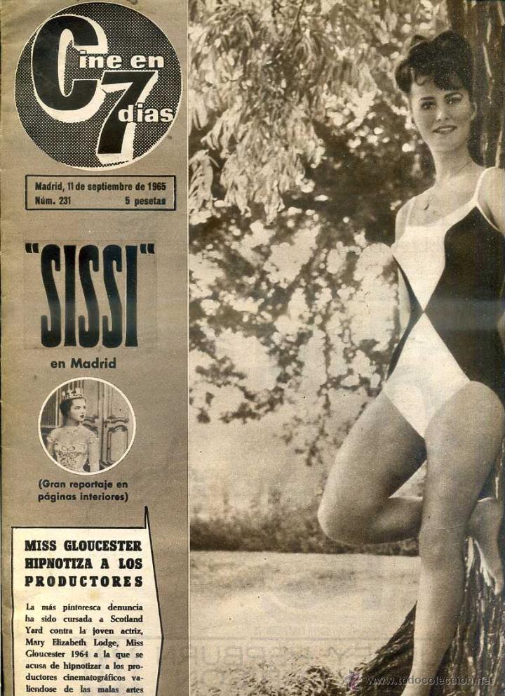 Cine: CINE EN 7 DÍAS Nº 231 (1965) SOFIA LOREN - Foto 2 - 45179410