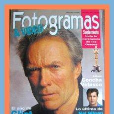 Cine: REVISTA FOTOGRAMAS NUM. 1796 ABRIL 1993. CLINT EASTWOOD, ANDY GARCIA, UMA THURMAN, ROBIN WILLIAMS. Lote 45217665