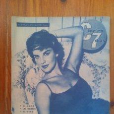 Cine: CINE EN 7 DÍAS, Nº 3, ABRIL DE 1961. ANTONELLA LUALDI. GARY COOPER. CHICAS CINE FRANCÉS. DIANA DORS. Lote 45243953