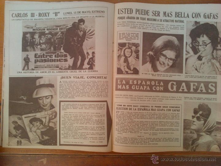 Cine: Cine en 7 Días, nº 5 de mayo de 1961. Silvia Sorente. Bellas Cine de Moscú. Mara Berny. Bob Hope - Foto 2 - 45244293