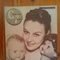 Cine: CINE EN 7 DÍAS, Nº 7 DE MAYO DE 1961. LOLITA SEVILLA. EDITH ELMAY. DEAN MARTIN. CHARLTON HESTON. Lote 45244389