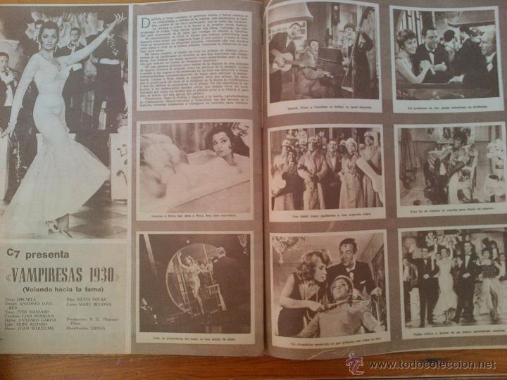 Cine: Cine en 7 Días, nº 9 de junio de 1961. Portada Conchita Velasco. Greta Garbo. María Albaicín - Foto 2 - 45244497