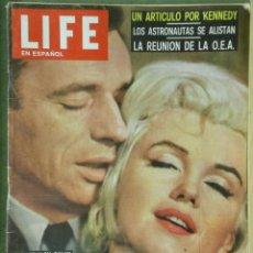 Cine: G5242 MARILYN MONROE YVES MONTAND LIFE REVISTA AMERICANA EN ESPAÑOL SEPTIEMBRE 1960. Lote 45246534