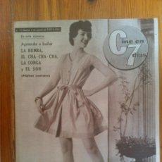 Cine: CINE EN 7 DÍAS, Nº 17, DE AGOSTO DE 1961. PORTADA PAT O'BRIEN. NINA Y FREDERIK. FRANCISCO RABAL. Lote 45247359