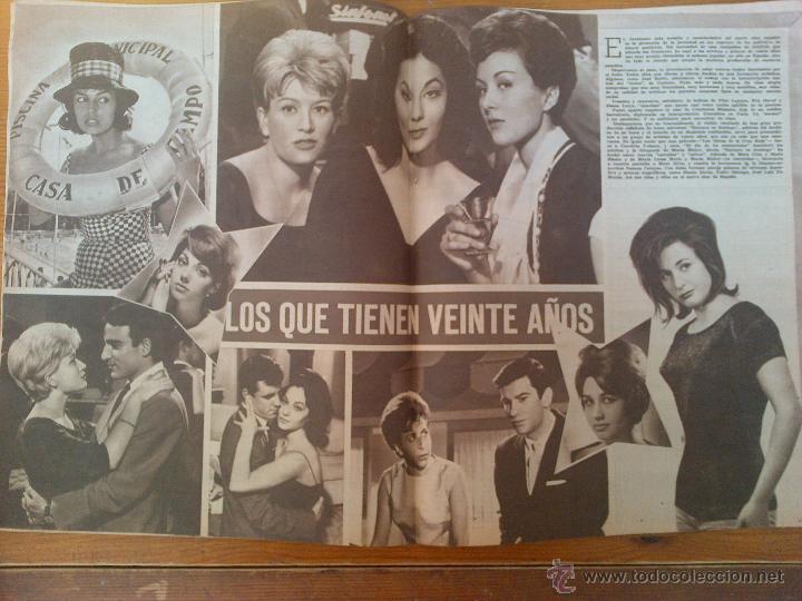 Cine: Cine en 7 Días, nº 20, de agosto de 1961. Irma Alvarez. Conchita Velasco. La Chunga. Frank Sinatra - Foto 2 - 45247594