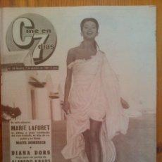 Cine: CINE EN 7 DÍAS, Nº 26, DE OCTUBRE DE 1961. PORTADA JACQUELINE SASSARD. MARIE LAFORET.BRIGITTE BARDOT. Lote 45248445