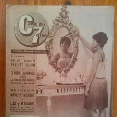 Cine: CINE EN 7 DÍAS, Nº 28, DE OCTUBRE DE 1961. ROSANNA SCHIAFINO. PABLITO CALVO. BELINDA LEE. M. MONROE. Lote 45248656