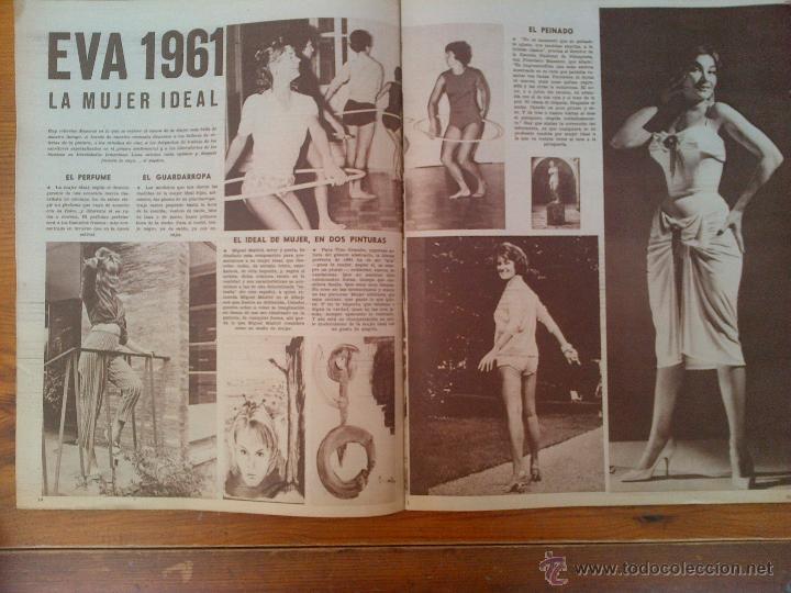 Cine: Cine en 7 Días, nº 29, de octubre de 1961. Portada Cristina Gajeni. Germán Cobos. Domenico Modugno - Foto 2 - 45248746