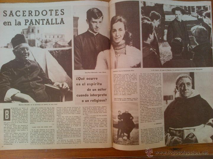 Cine: Cine en 7 Días, nº 33, de noviembre de 1961. Shirley McLaine. Francisco Rabal. Clark Gable - Foto 2 - 45249085