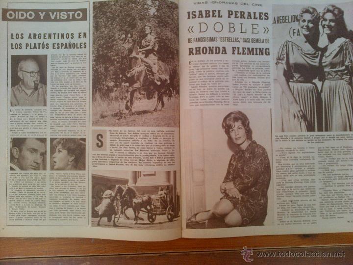 Cine: Cine en 7 Días, nº 36, de diciembre de 1961. Tita Cervera, Ava Gardner. Don Ameche. Sofía Loren - Foto 2 - 45249328