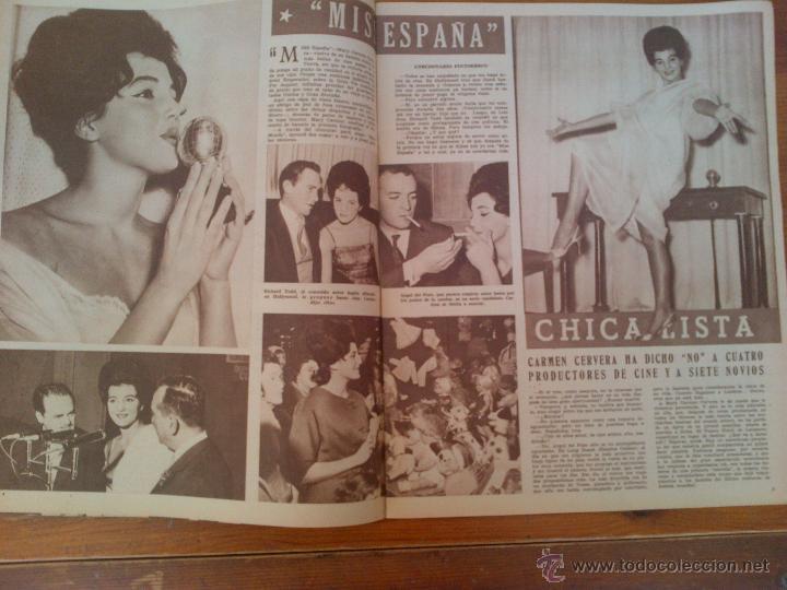 Cine: Cine en 7 Días, nº 36, de diciembre de 1961. Tita Cervera, Ava Gardner. Don Ameche. Sofía Loren - Foto 3 - 45249328