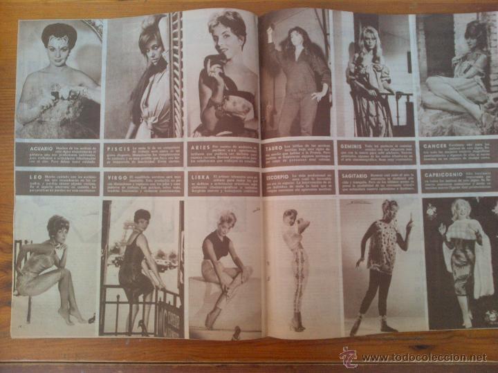 Cine: Cine en 7 Días, nº 37,de diciembre de 1961. Yvette Mimieux. Merlo y Larrañaga. Duquesa de Alba - Foto 2 - 45249384