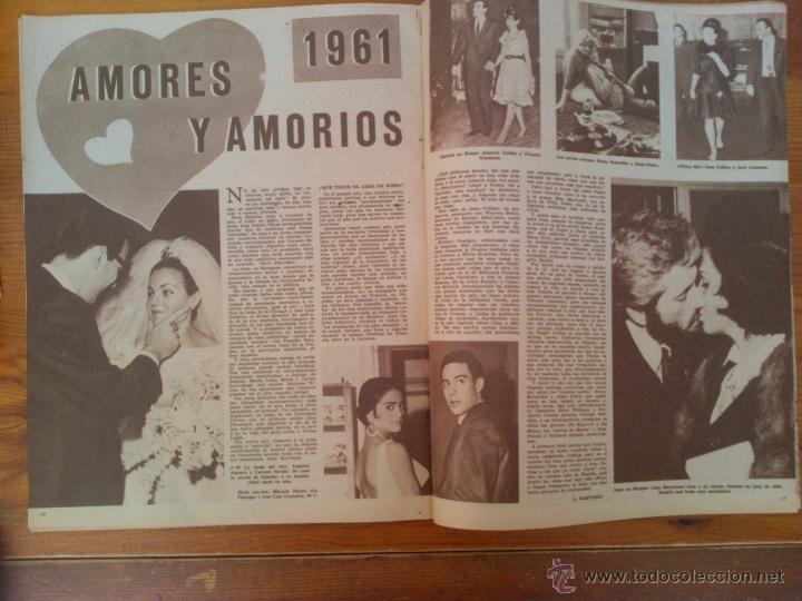 Cine: Cine en 7 Días, nº 38, de diciembre de 1961. Liz Taylor. Boda Merlo y Larrañaga. Diana Lorys - Foto 2 - 45249450