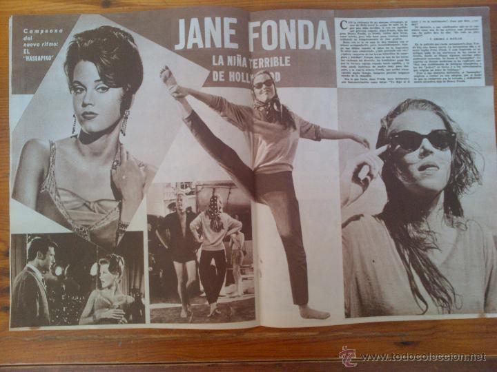 Cine: Cine en 7 Días, nº 67, de julio de 1962. Rosanna Schiaffino. Sofía Loren. Jane Fonda. Janet Munro - Foto 2 - 45249487