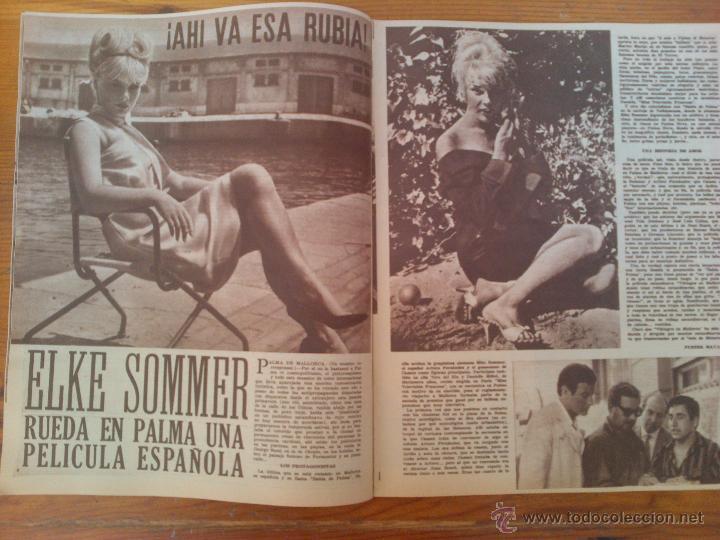 Cine: Cine en 7 Días, nº 69, de agosto de 1962. Tanya. C. Cardinale. Elke Sommer. Kim Novak. F. Sinatra - Foto 2 - 45249558