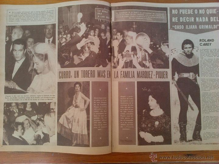 Cine: Revista Cine en 7 Días, número 81 de fecha 27 de octubre de 1962. Portada Malise Mencles - Foto 2 - 45249952