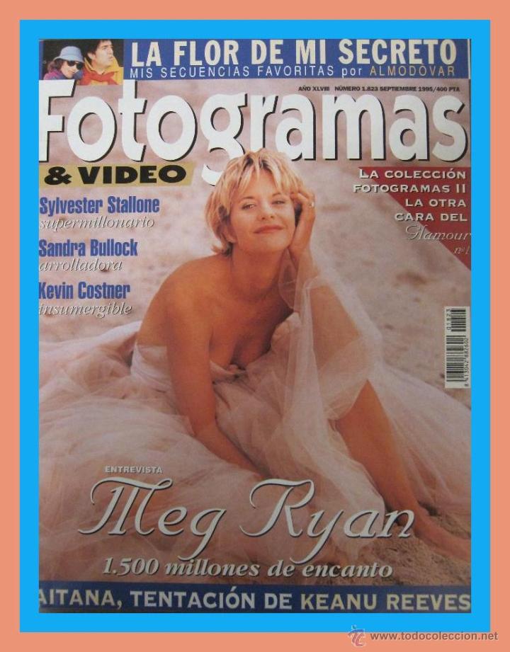 REVISTA FOTOGRAMAS NUM. 1823 SEPTIEMBRE 1995. MEG RYAN, SYLVESTER STALLONE, SANDRA BULLOCK, ETC. (Cine - Revistas - Fotogramas)