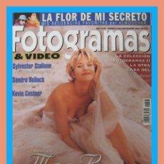 Cine: REVISTA FOTOGRAMAS NUM. 1823 SEPTIEMBRE 1995. MEG RYAN, SYLVESTER STALLONE, SANDRA BULLOCK, ETC.. Lote 129390886