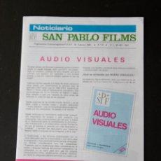 Cine: NOTICIARIO SAN PABLO FILMS - FEBRERO 1980 - Nº 24. Lote 45314576