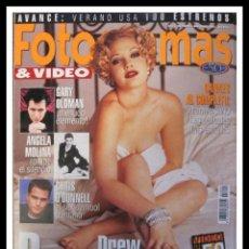 Cine: REVISTA FOTOGRAMAS NUM 1844 JUNIO 1997. DREW BARRYMORE, GARY OLDMAN, ANGELA MOLINA, CHRIS O'DONNELL. Lote 45340836