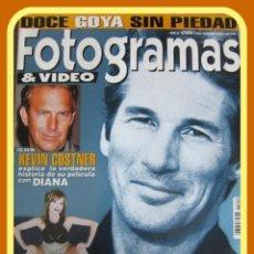 Cine: REVISTA FOTOGRAMAS NUM 1852 FEBRERO 1998. RICHARD GERE, KEVIN COSTNER, VICTORIA ABRIL, ETC.. Lote 45395572