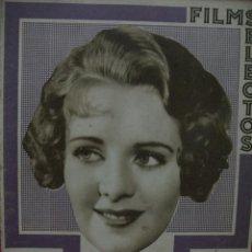 Cine: FILMS SELECTOS NUMERO 165 - AÑO 1933. Lote 45397471