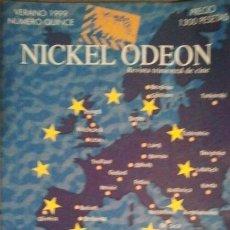 Cine: 15 REVISTA TRIMESTRAL DE CINE NICKEL ODEON EUROPA 2000 VERANO 1999. Lote 46568717