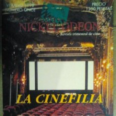 Cine: 11 REVISTA TRIMESTRAL DE CINE NICKEL ODEON VERANO 1998 LA CINEFILIA. Lote 46568722
